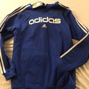 Boy's Size Large Adidas Hoodie, BNWT